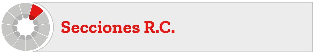 Secciones RC