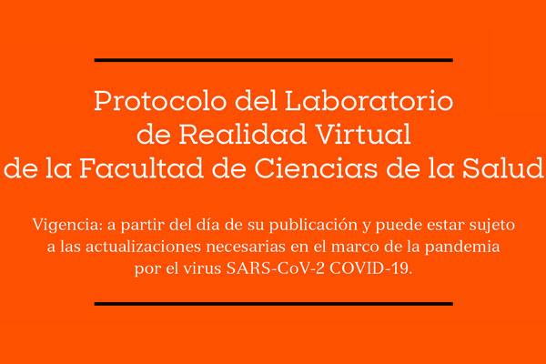 Protocolo del Laboratorio de Simulación Clínica de la Facultad de Ciencias de la Salud