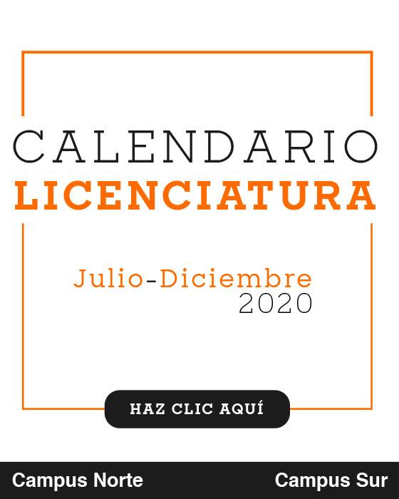 Calendario Licenciaturas