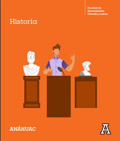 Folleto de la Licenciatura en Historia