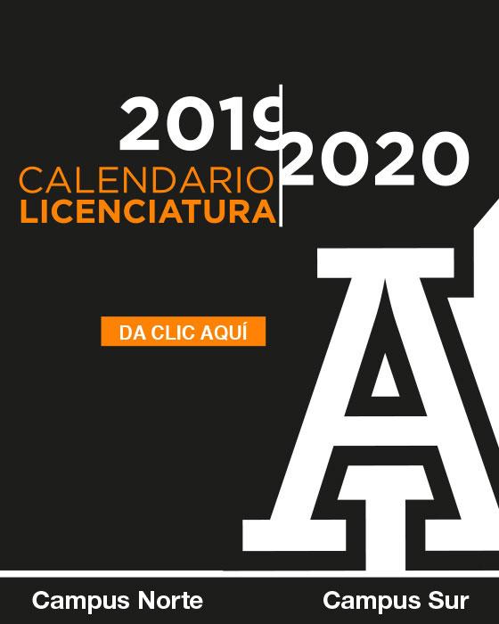Calendario Licenciatura