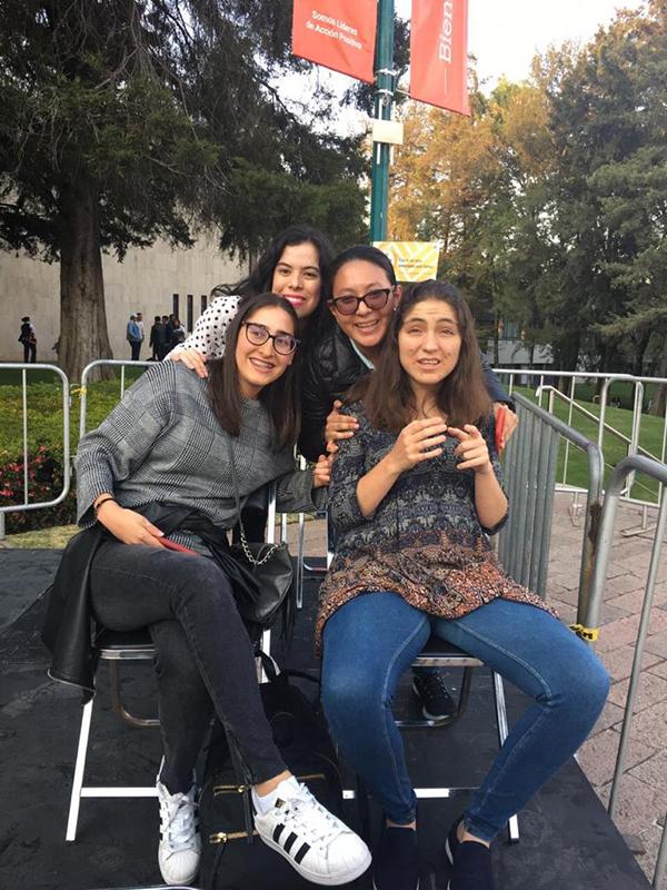 """""""No porque tengamos una discapacidad somos diferentes a los demás"""", Dariana Morales"""