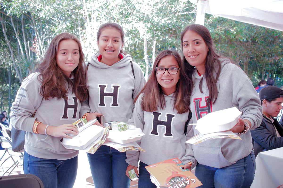 5 / 28 - Los alumnos Anáhuac contagian de entusiasmo el Campus Visit