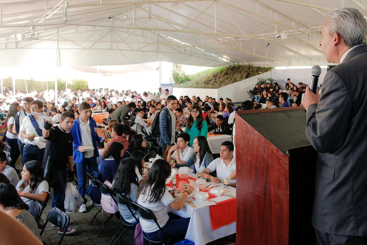 6 / 28 - Los alumnos Anáhuac contagian de entusiasmo el Campus Visit