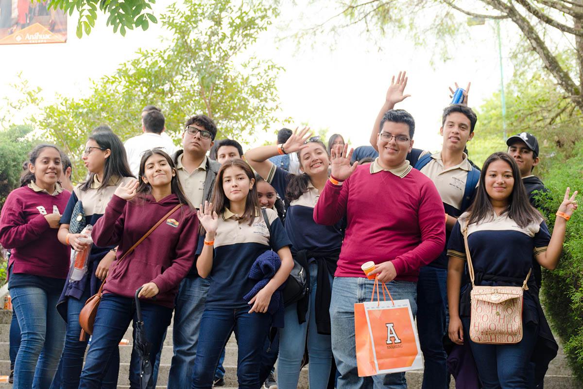 25 / 28 - Los alumnos Anáhuac contagian de entusiasmo el Campus Visit
