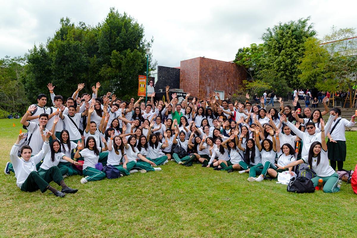 28 / 28 - Los alumnos Anáhuac contagian de entusiasmo el Campus Visit