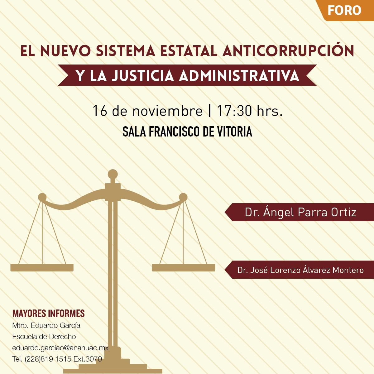 El Nuevo Sistema Estatal Anticorrupción