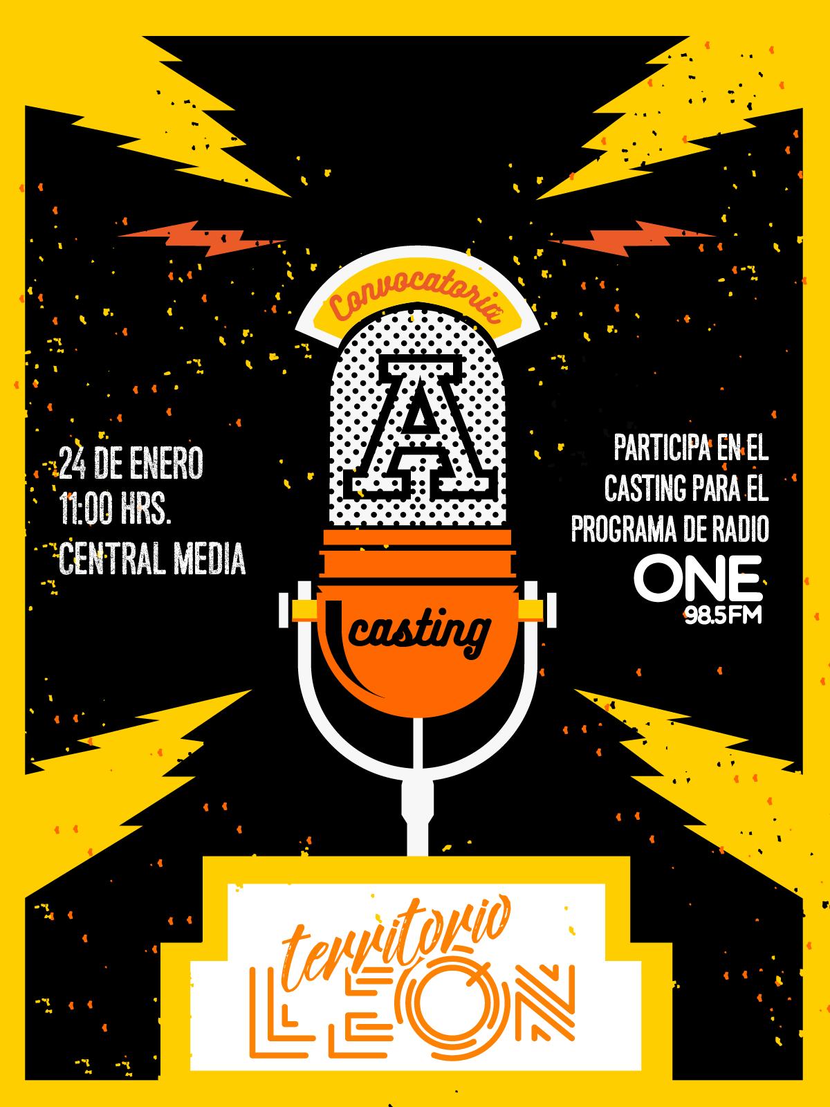 Casting para Territorio León