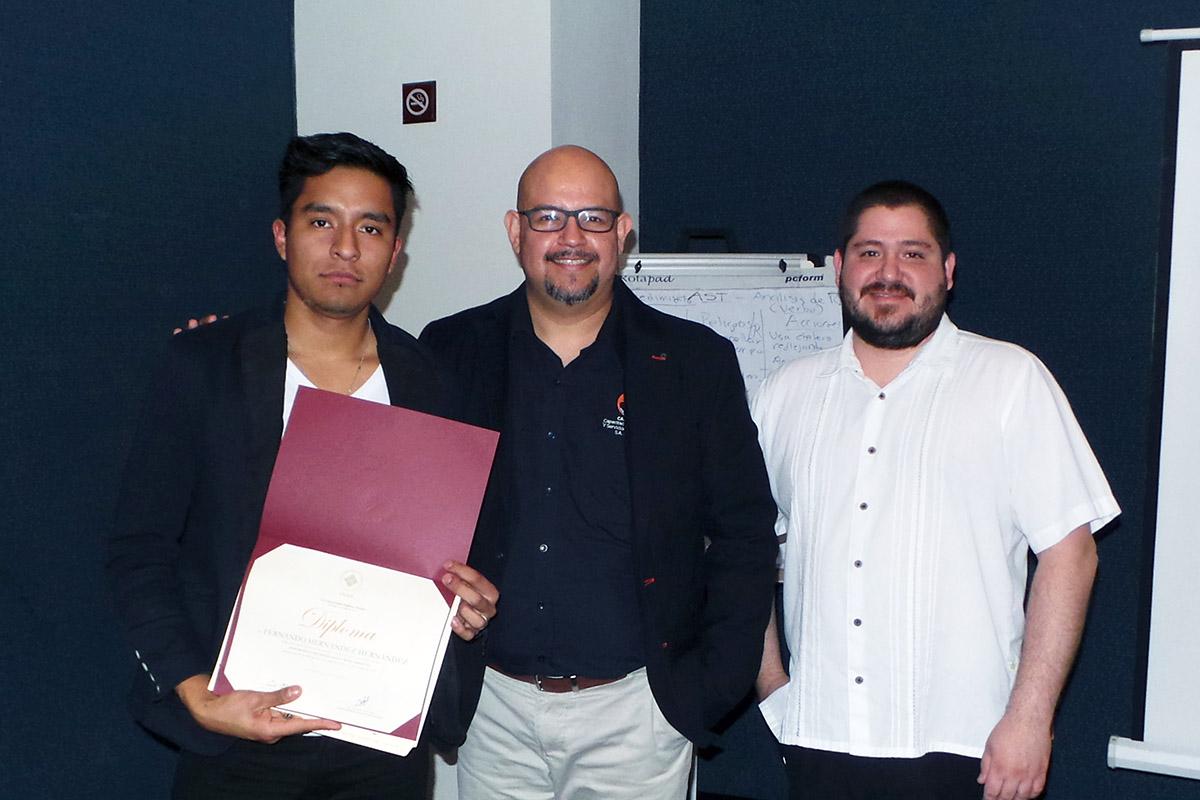 Concluye primer Programa de Extensión impartido en Veracruz