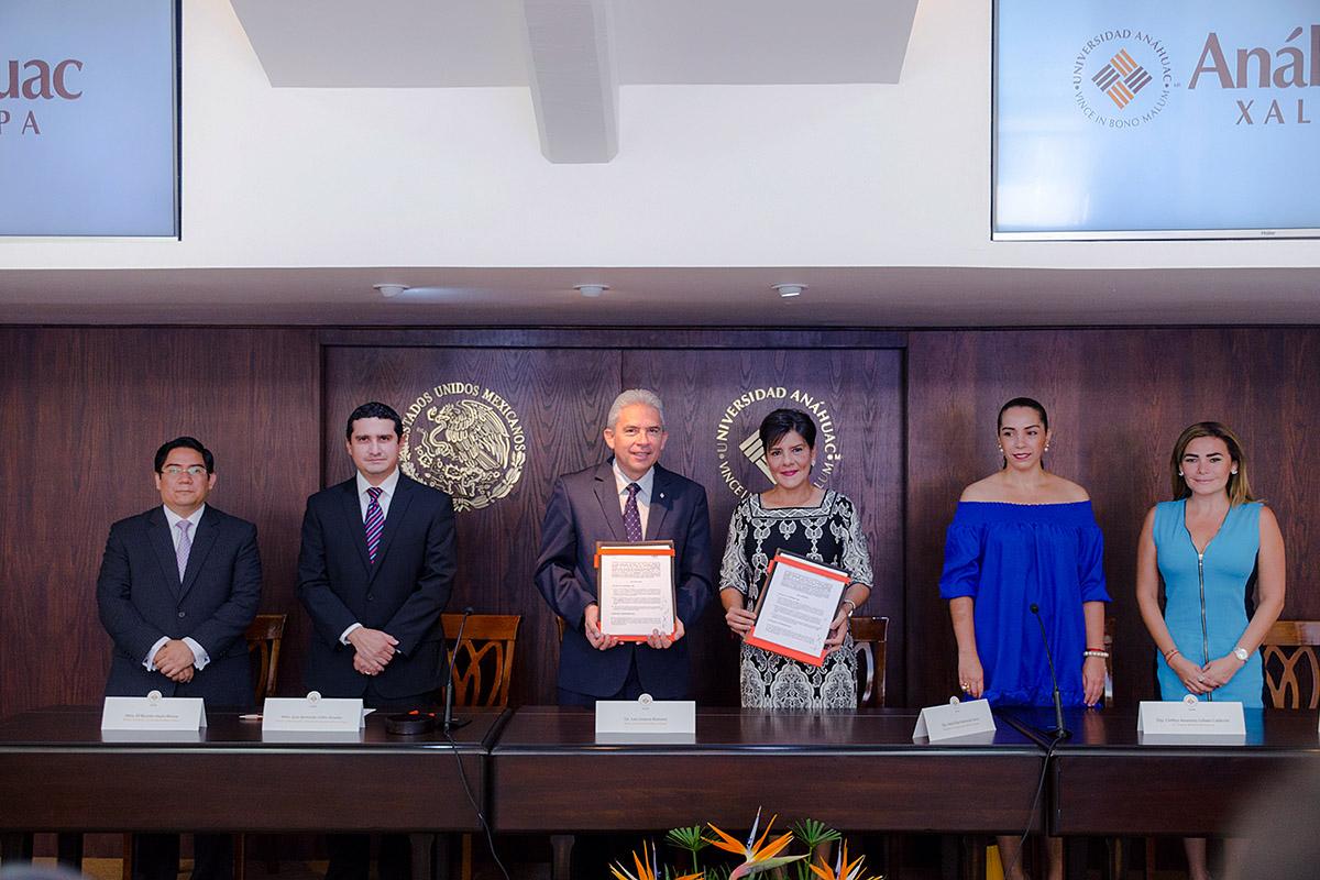 Se firma convenio con el Poder Legislativo del Estado de Veracruz