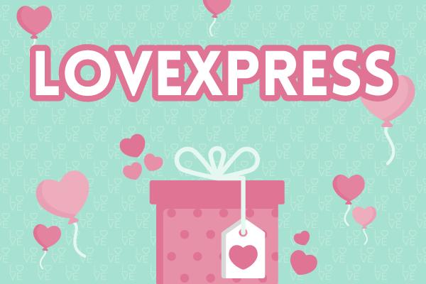 Lovexpress, globos para celebrar San Valentín