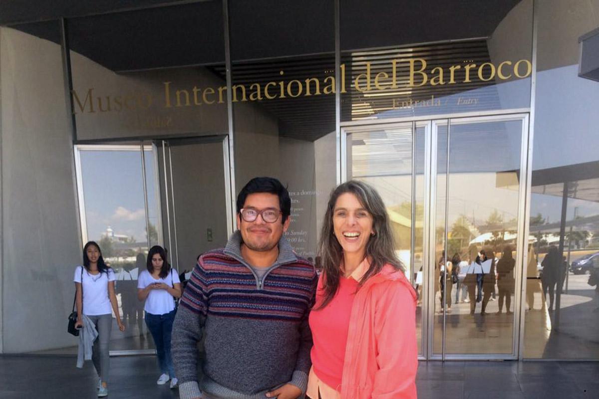 9 / 11 - Arquitectura y Diseño Gráfico visitan el Museo Internacional del Barroco