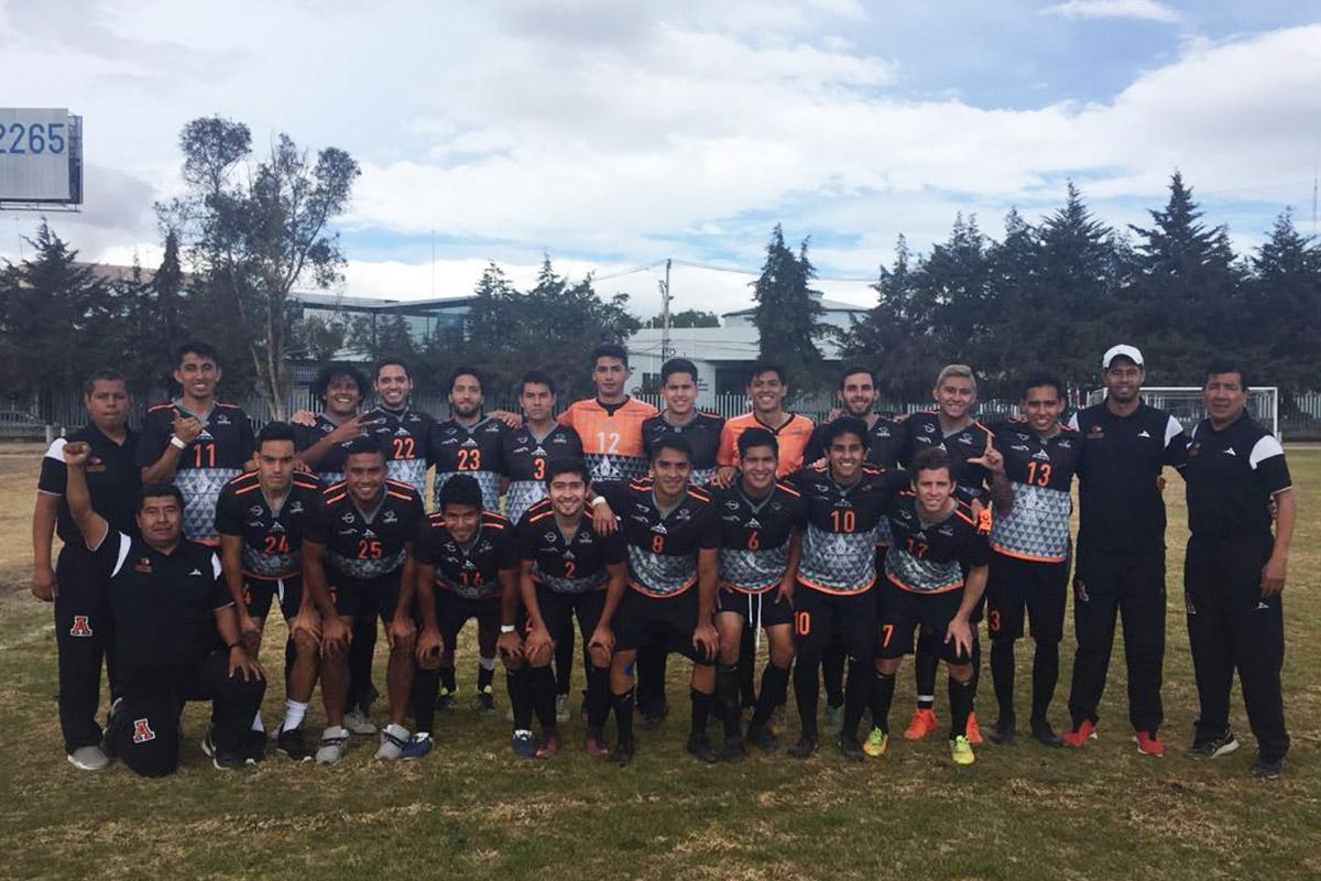 2 / 9 - Fútbol Soccer - ITESM Pachuca vs Leones Anáhuac