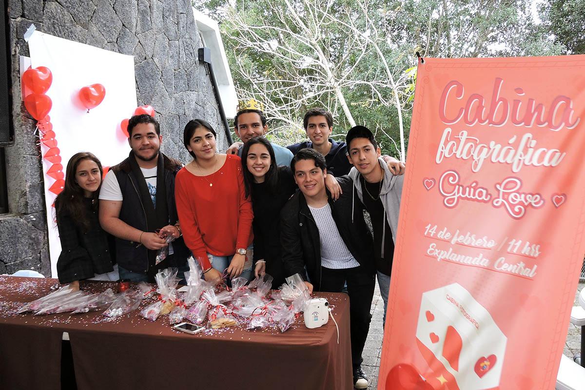 4 / 7 - Grupos Estudiantiles en el Día del Amor y la Amistad
