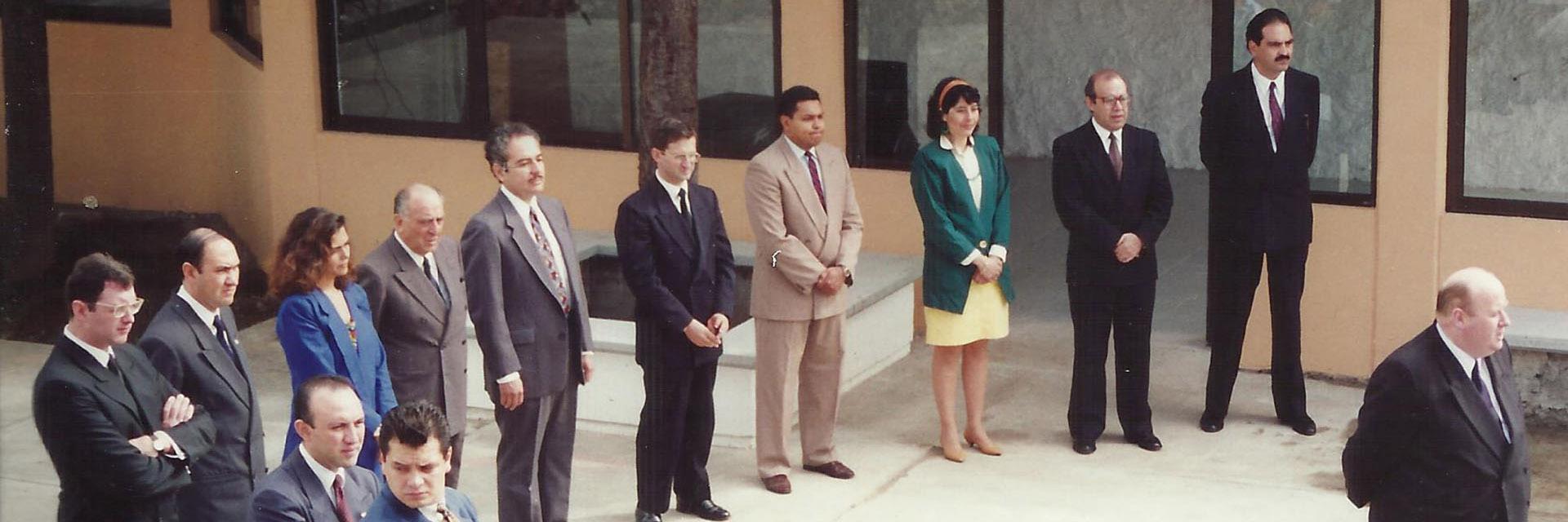 1993 / Primer día de clases.