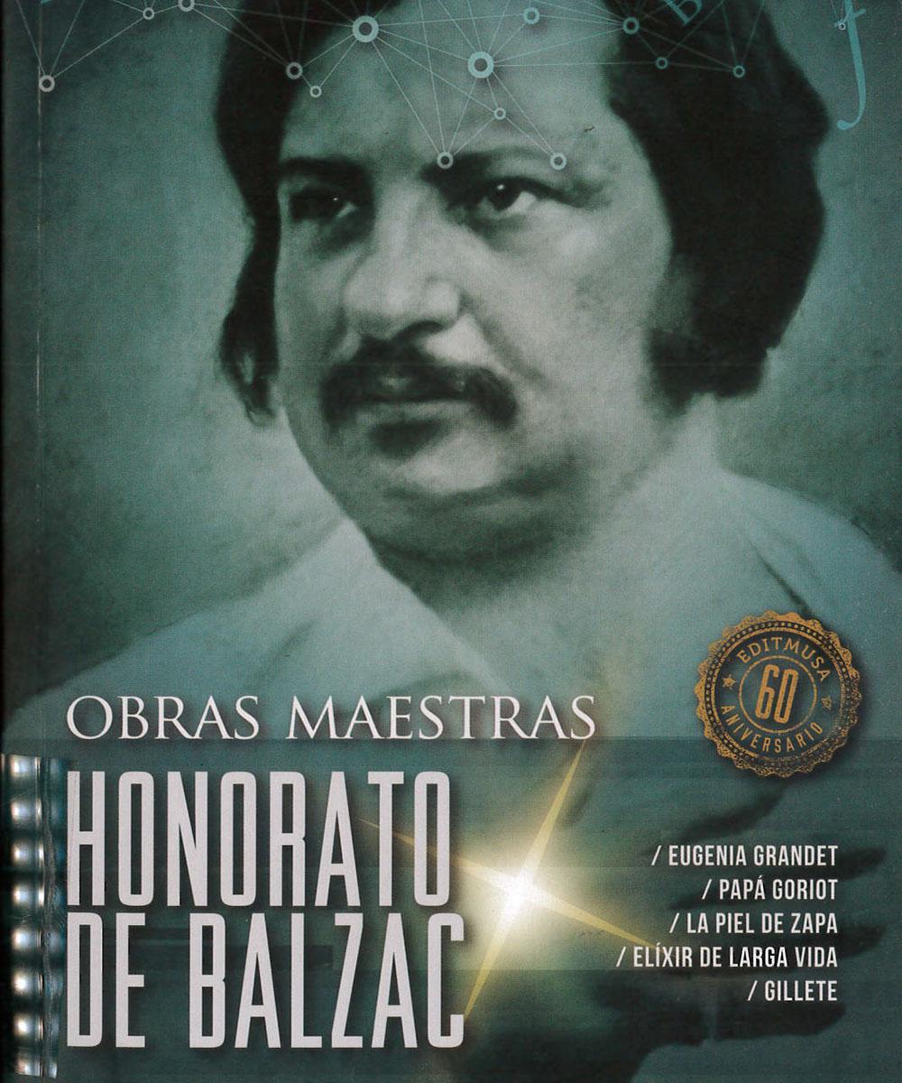 2 / 8 - PQ2162.S6 B35 Honorato de Balzac, Honoré De Balzac - Editores Mexicanos Unidos, México 2015