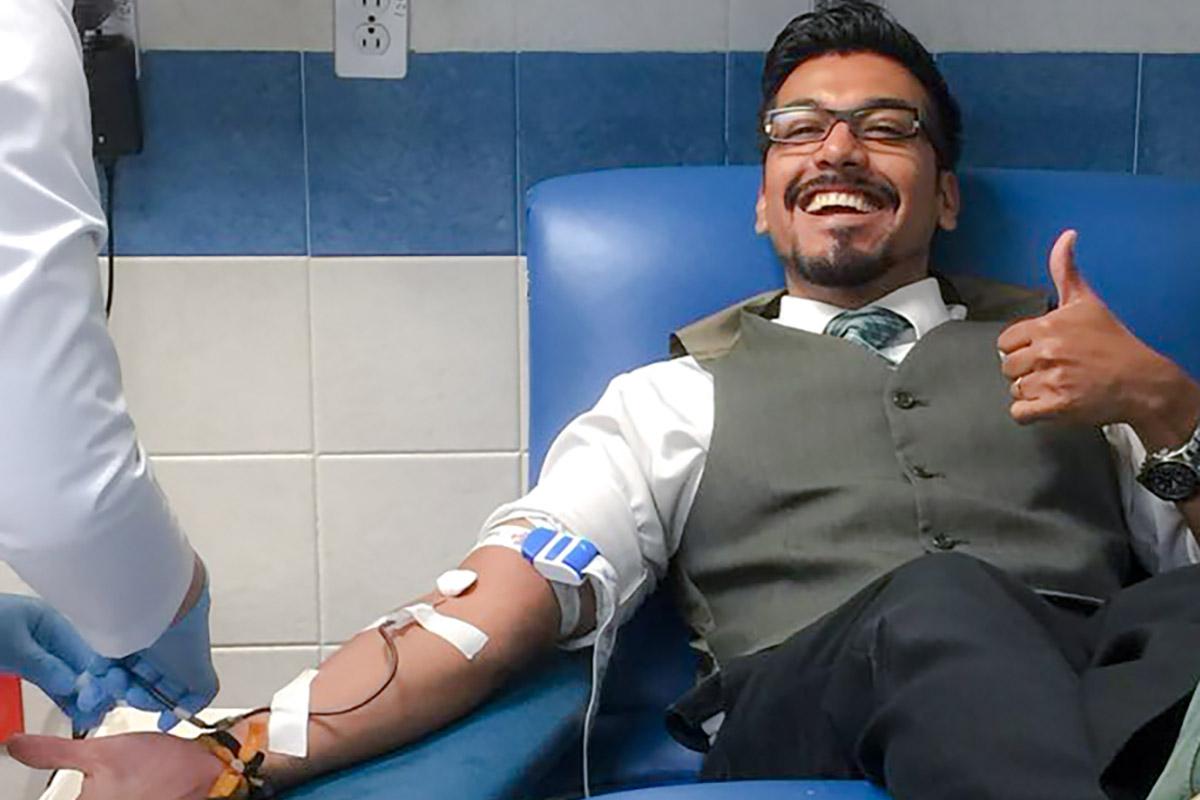 3 / 4 - Primera Campaña de Donación de Sangre Vértice