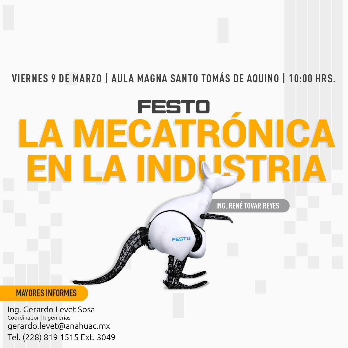 La Mecatrónica en la Industria