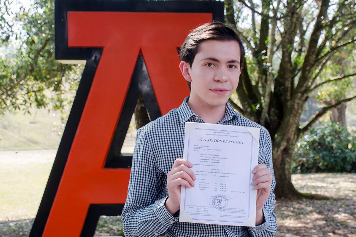 6 / 7 - Entrega de Certificados Internacionales de Lengua Francesa