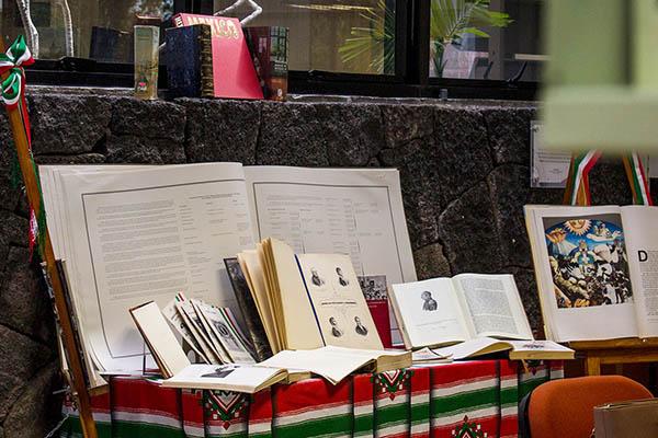 Exhibición de Libros de la Independencia de México