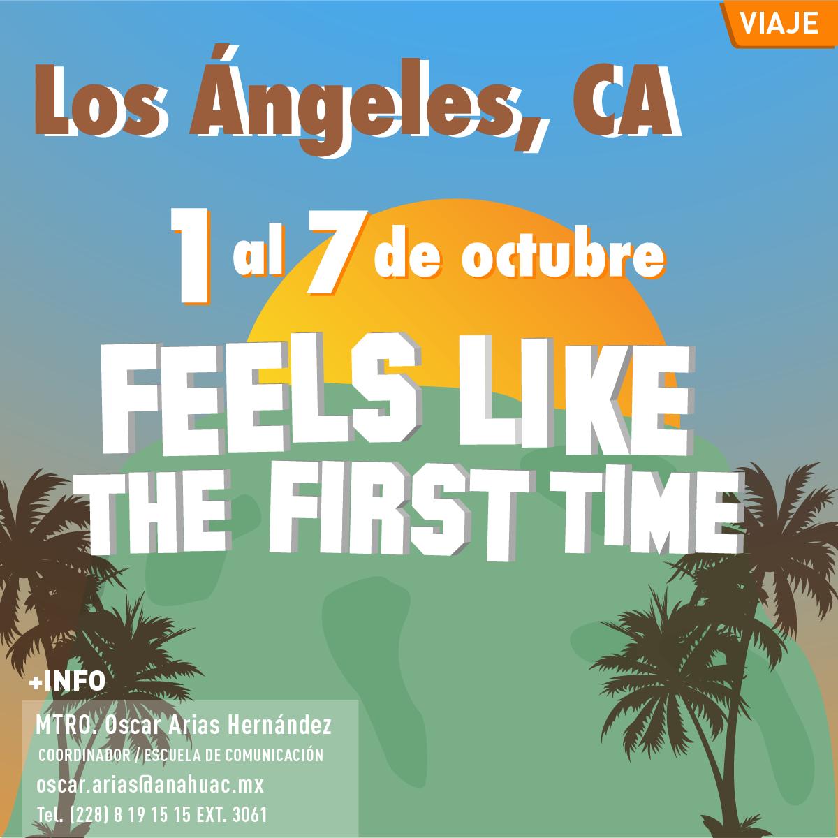 Viaje a Los Ángeles California