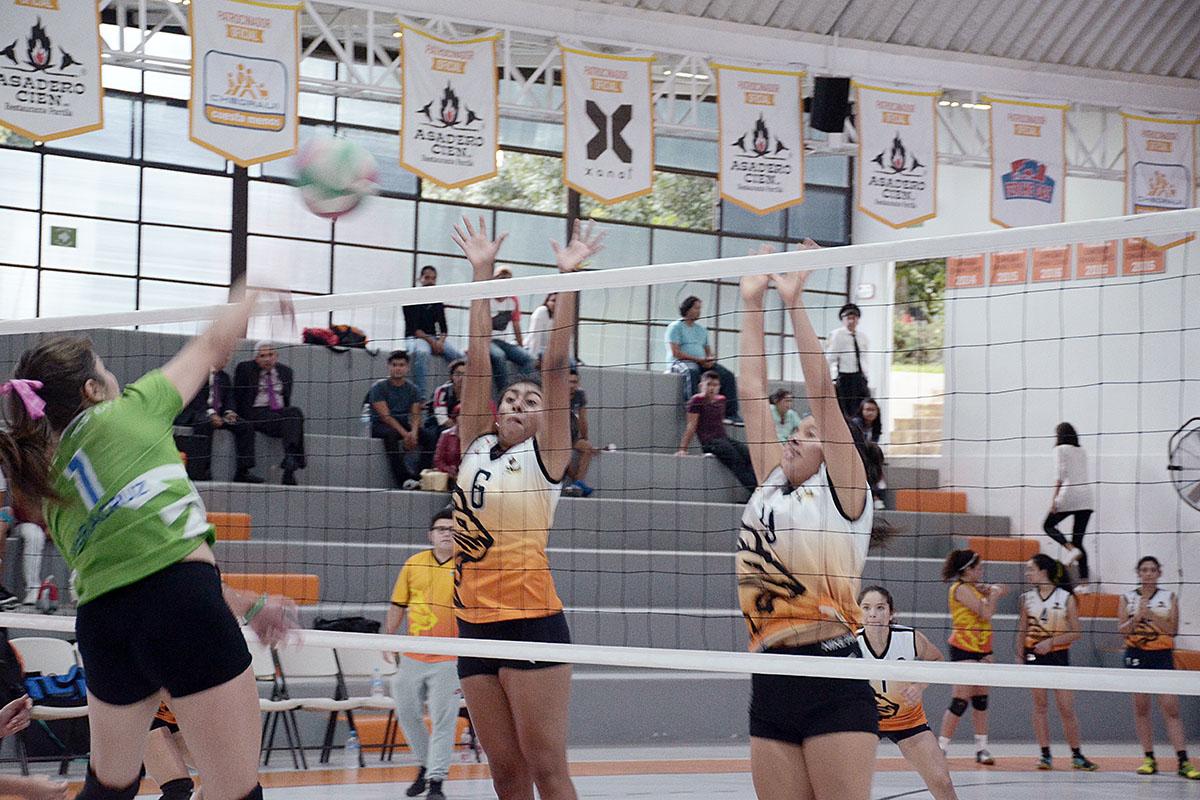 3 / 4 - Inicia la actividad en Voleibol Anáhuac