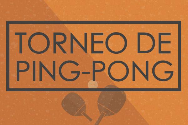Torneo de Ping-Pong IngeniA 2018