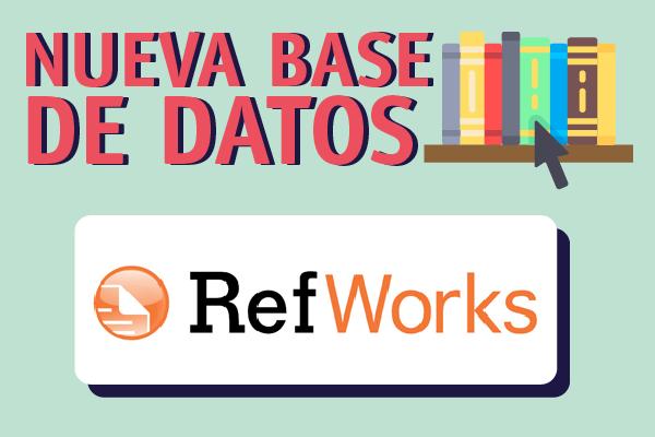 RefWorks, nueva Base de Datos