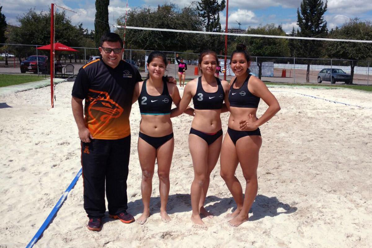 1 / 4 - Tercer Lugar en Voleibol de Playa CONADEIP