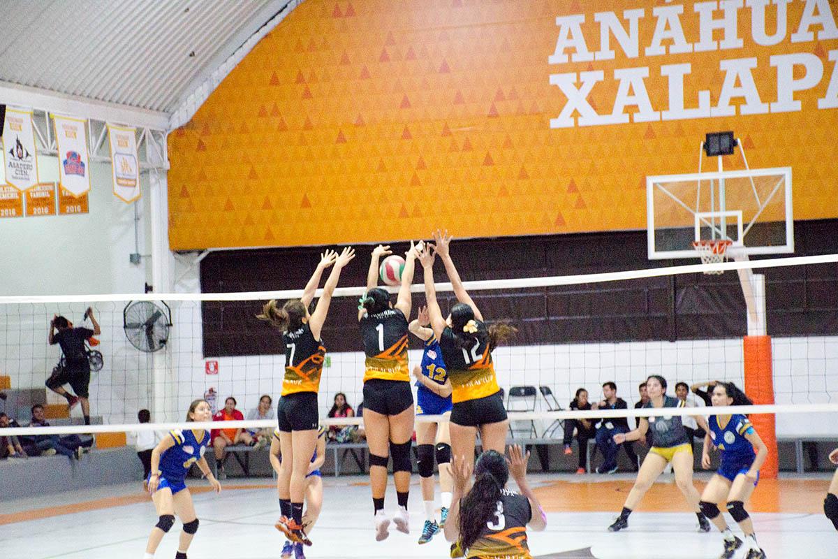 4 / 16 - Torneo de Voleibol Anáhuac Xalapa 2017 y Doble Jornada ABE
