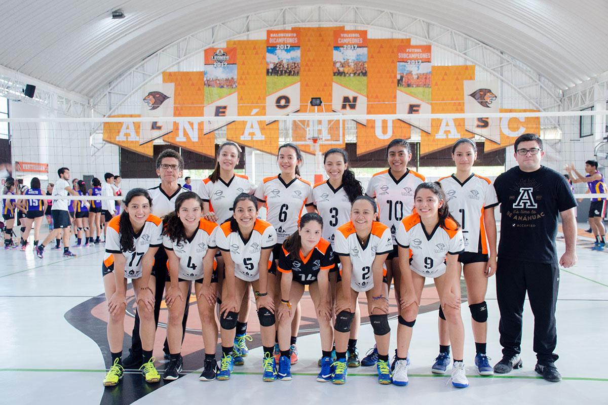 11 / 16 - Torneo de Voleibol Anáhuac Xalapa 2017 y Doble Jornada ABE