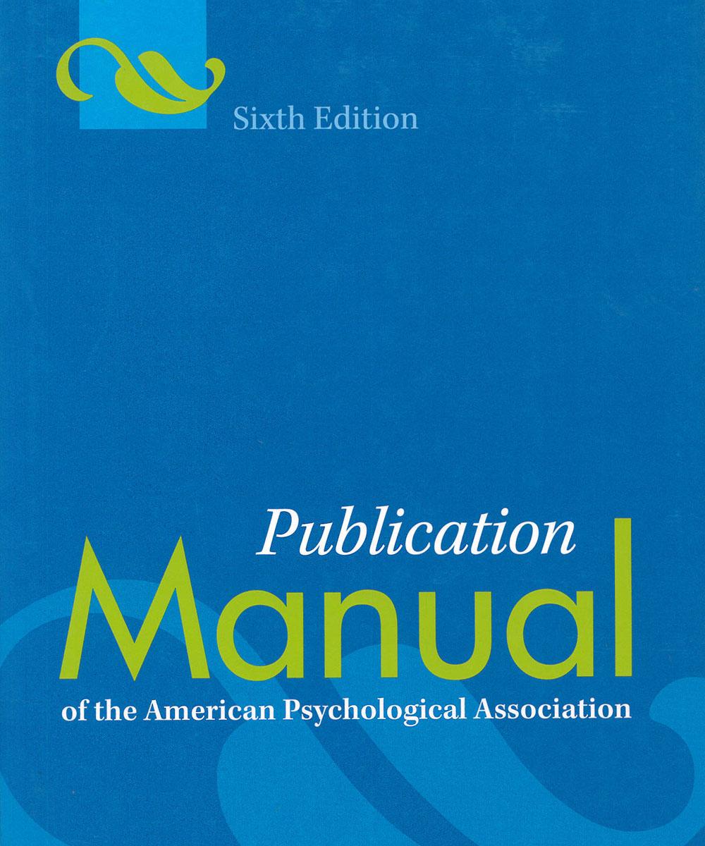 1 / 6 - BF76.7 M35 2010 Publication Manual APA - APA, Estados Unidos 2015