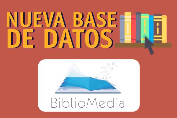 BiblioMedia, nueva Base de Datos