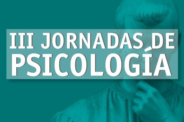 III Jornadas de Psicología