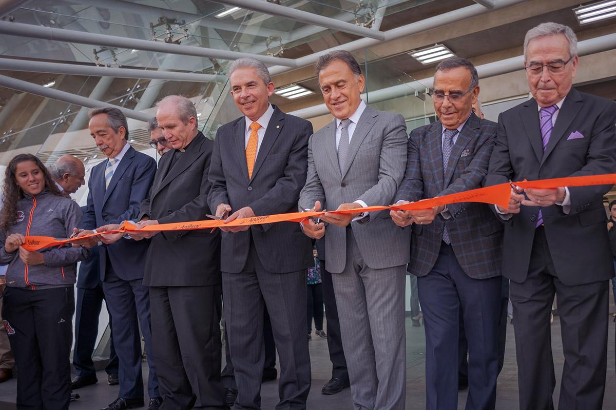 Inauguración del Complejo Deportivo Antonio Chedraui Caram