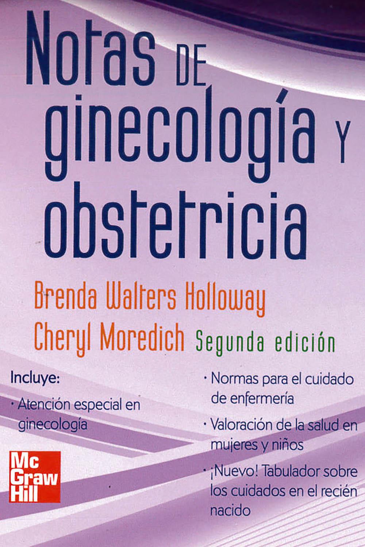 20 / 26 - RG108 W35 2012 Notas de Ginecología y Obstetricia, Brenda Walters Holloway -   McGraw Hill, México 2012