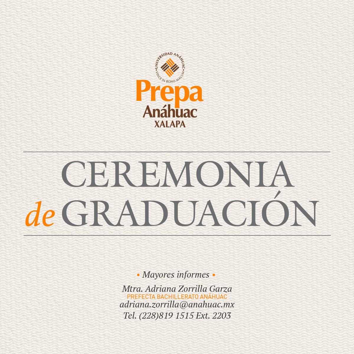 Ceremonia de Graduación 2018
