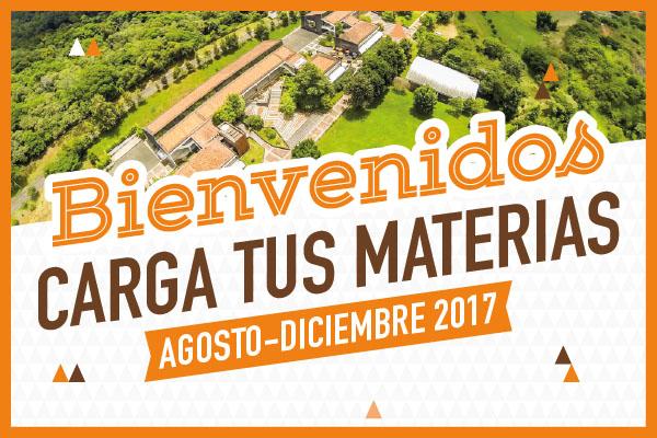 Bienvenidos al Periodo 201760, Agosto-Diciembre de 2017