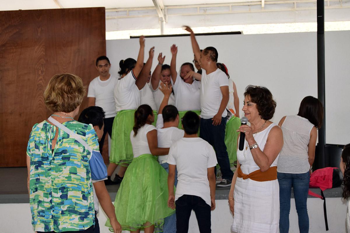 15 / 16 - Visita del Instituto Down de Xalapa