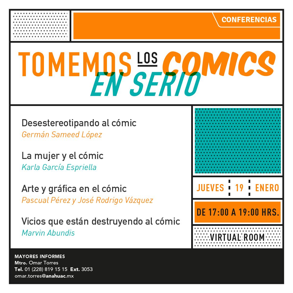 Tomemos los Comics en Serio