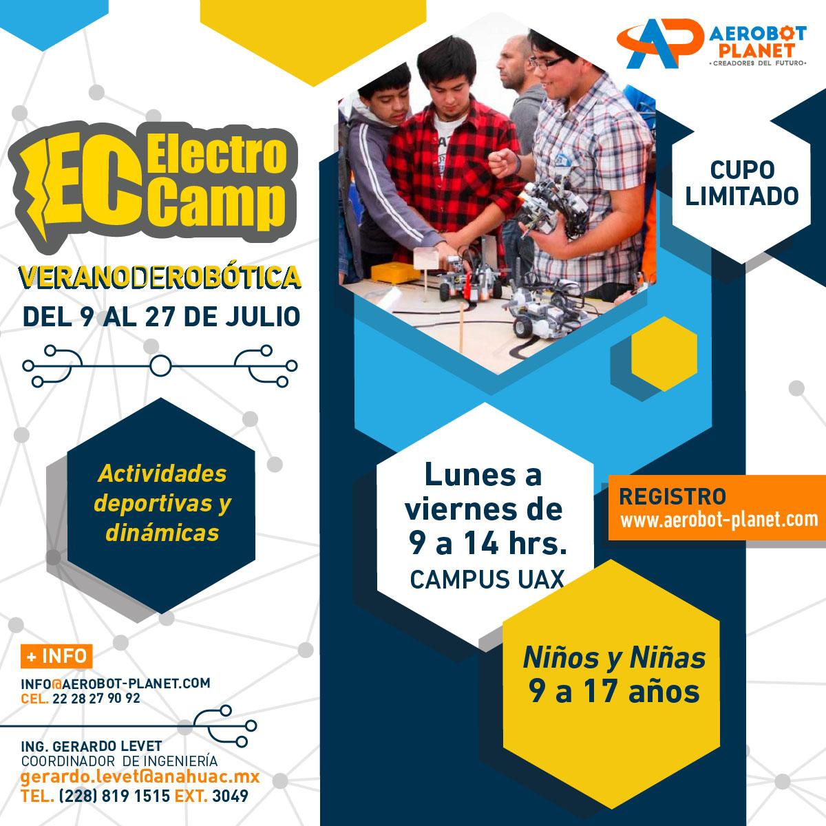 Electro Camp: Verano de Robótica