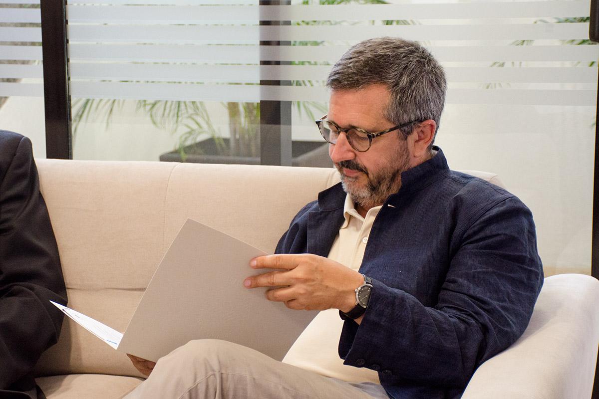 3 / 4 - Visita del Arq. Roberto Goycoolea de la Universidad de Alcalá de Henares