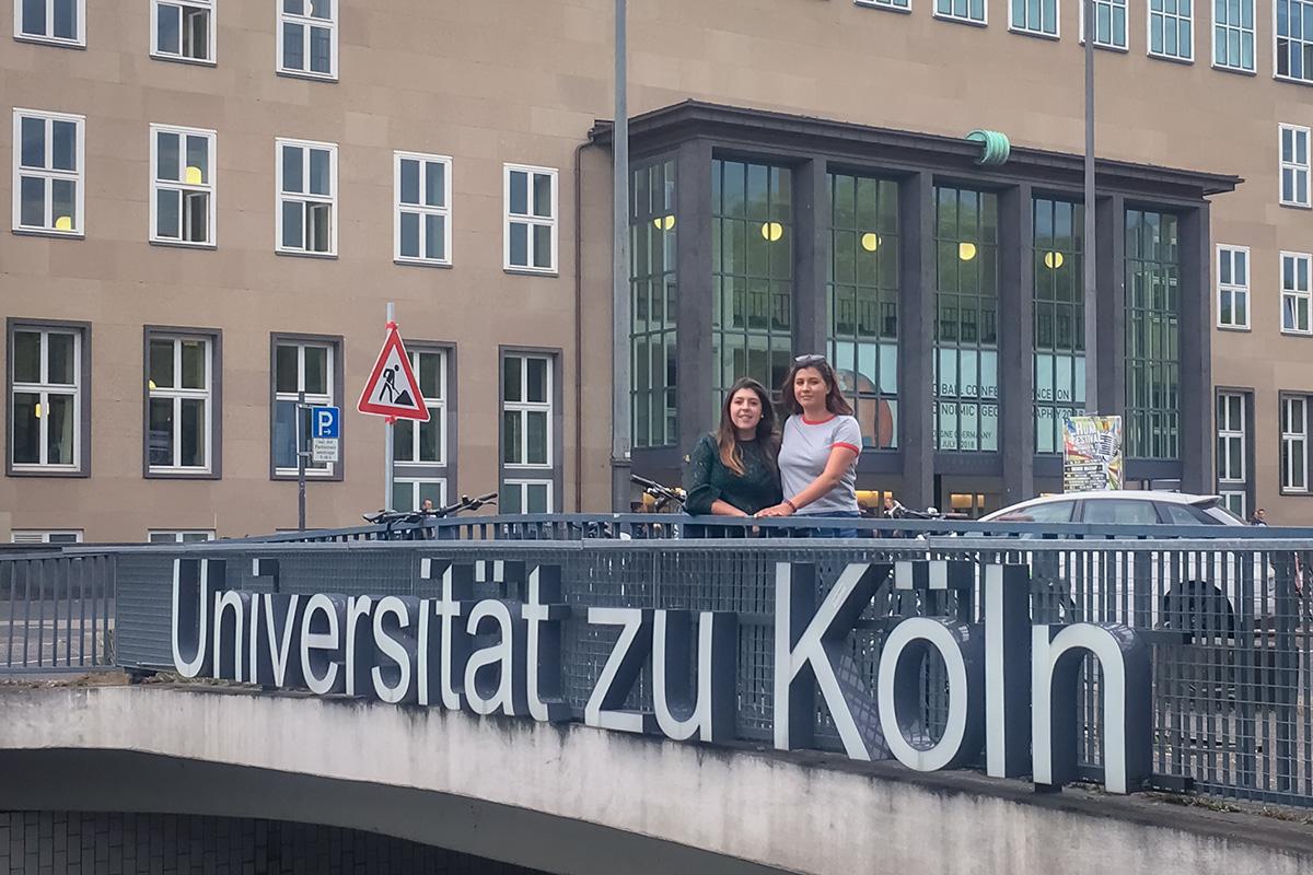 2 / 4 - Realizan estancia en la Universidad de Colonia, Alemania