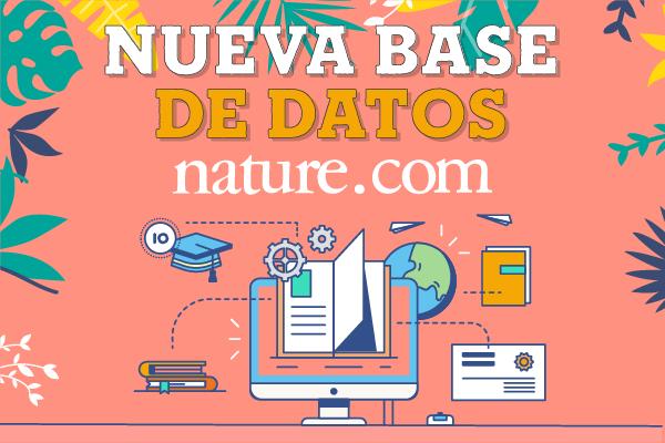 Nature, nueva Base de Datos