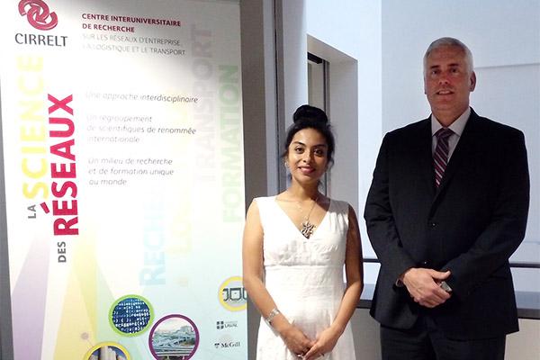 Visitas académicas a la Universidad de Montreal y a la OUI