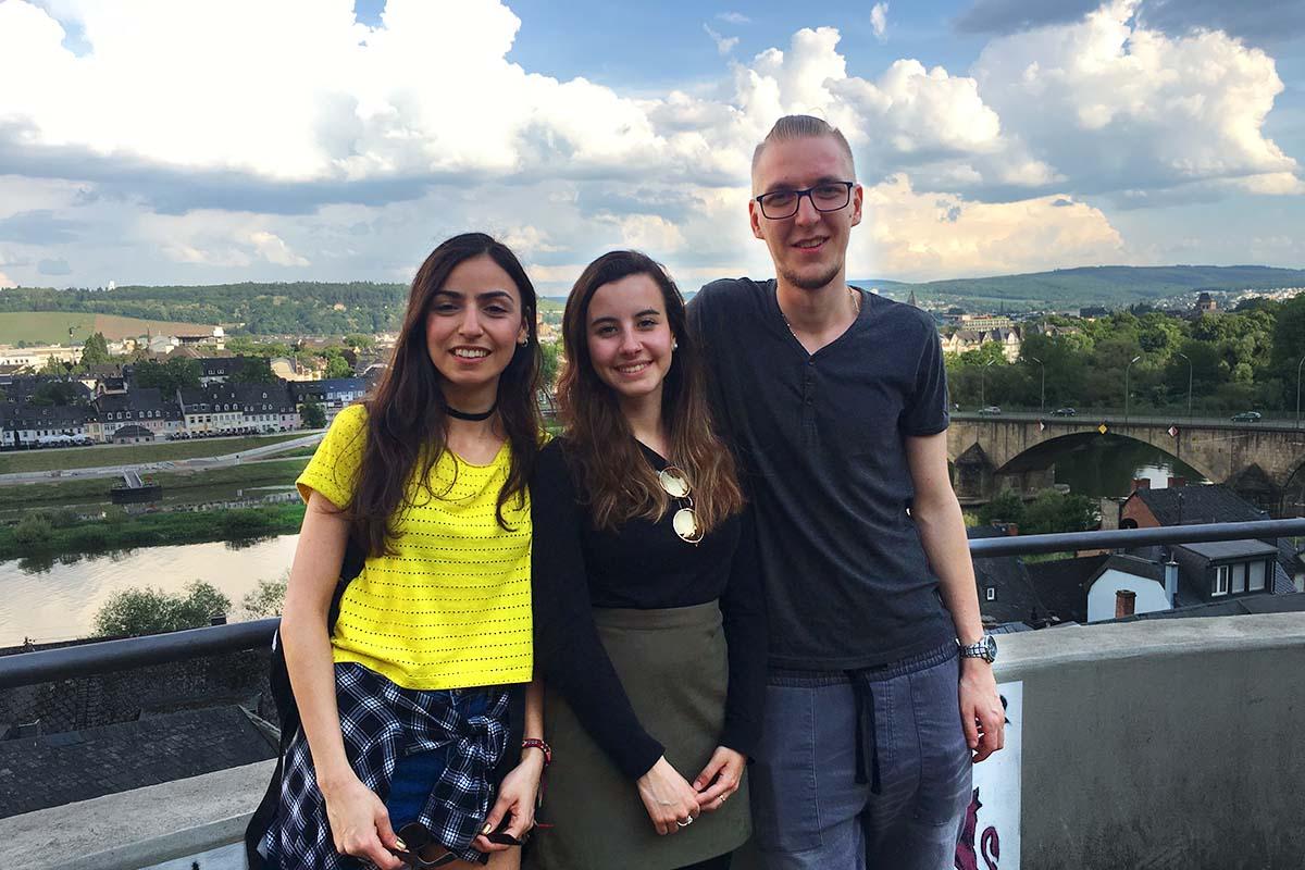 2 / 5 - Diseño Gráfico internacionaliza a sus alumnos en Alemania