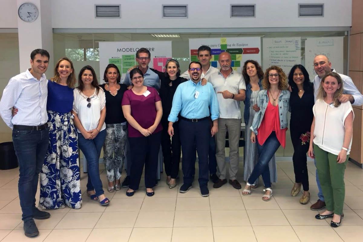 1 / 2 - Coaching Dialógico de Equipos en la Universidad Francisco de Vitoria en Madrid, España.