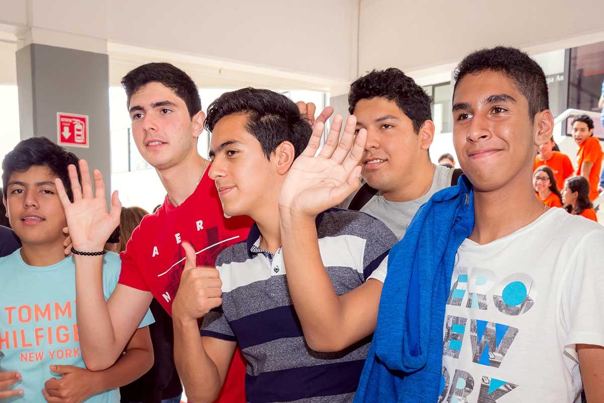 Actividades de inducción para alumnos de nuevo ingreso.