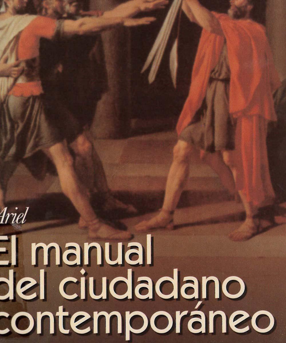 7 / 13 - JC423 A57 El manual del ciudadano contemporáneo, Ikram Antaki - Ariel, México 2000