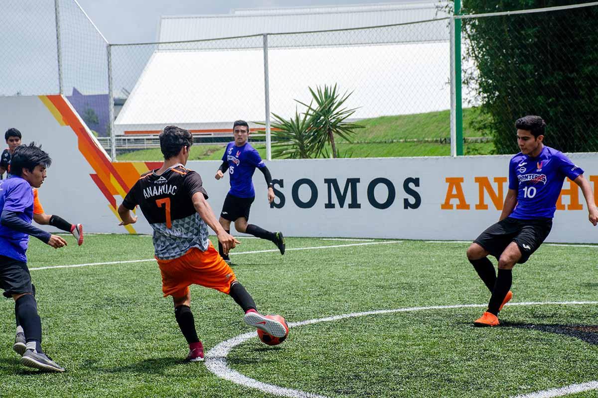 5 / 7 - Leones Fútbol Rápido Varonil vs UVP.